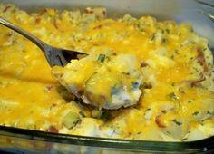 RecipeByPhotos: Potato Egg Casserole