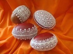 Gingerbread Decorations, Gingerbread Cookies, Easter Cookies, Christmas Cookies, Easter Table, Easter Eggs, Egg Shell Art, Egg Art, Egg Shells