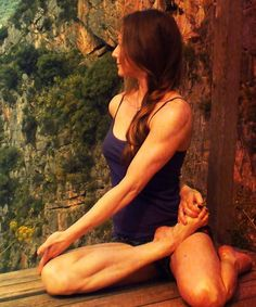 yoga joy, love this pose