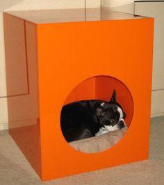 $259 Canine Casita #etsy #doghouse #orange