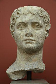 Flavia Domitilla, daugther of Emperor Vespasian, from Rome, c. AD 69-96, Ny Carlsberg Glyptotek, Copenhagen   #TuscanyAgriturismoGiratola