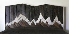 Pallet Headboard - Splendid Mountain | Pallet Furniture DIY