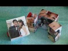 Como hacer un Cubo Magico con fotos para San Valentin / 14 de febrero / dia del amor y la amistad - YouTube