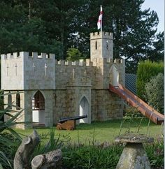 My house will need a back yard castle. How else can I re-enact epic lord of the rings battle with ny children ?