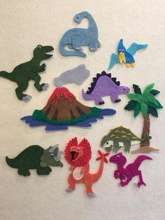 Dinosaur Felt Board Set Dinosaur Dinosaur Story Board PDF