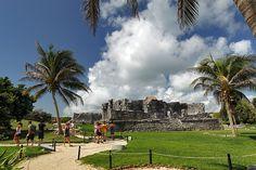 Mayan Ruins of Tulum in Mexico's Yucatan Peninsula