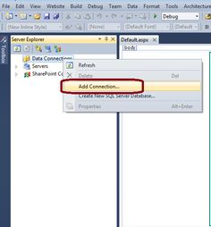 ASP.Net - Sql Server connection using LINQ method.