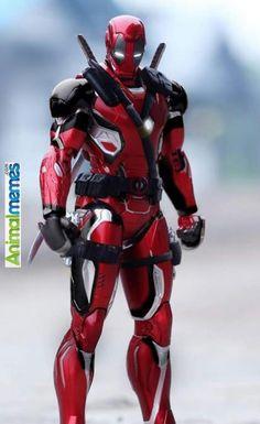 Funny memes Iron Deadpool...