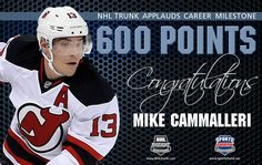 Mike Cammalleri, New Jersey Devils • December 17, 2016 • NHLTrunk.com