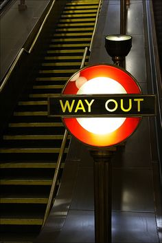 way out // London Underground
