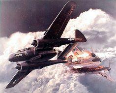 Northrop P - 61 Black Widow.