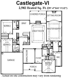 3 Bedroom Townhouse Plans With Garage | :: Bill Beazley Floor Plans :: |  Pinterest | Townhouse, Bedrooms And Condos