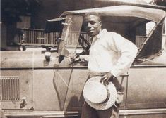 Only known photo of blues musician Skip James.