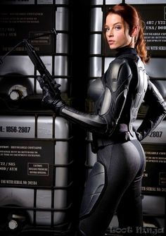 Scarlett from G.I Joe - Rachel Nichols