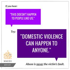 10/1: Domestic violence exists across race, religion, age, class and gender. #31n31 #DVAM2016  Learn more: http://nnedv.org/downloads/Policy/AD14/AD14_DVSA_Factsheet.pdf
