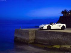 Lamborghini Gallardo LP Polizia Front Open Doors