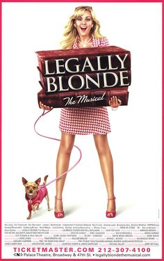 Legally Blonde  Yes, sometimes the reverse happens and a hit movie then becomes a hit Broadway production