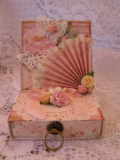Easel card with drawer - Scrapbook.com