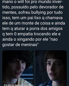 Prr maike qual e man? Stranger Things Actors, Stranger Things Netflix, Baguio, Bts Memes, Funny Memes, Will Byers, Sadie Sink, Dead To Me, Sad Love