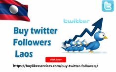Buy Twitter Followers Laos Twitter Followers, Best Sites, Laos, Stuff To Buy