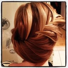 fish tail braid bun