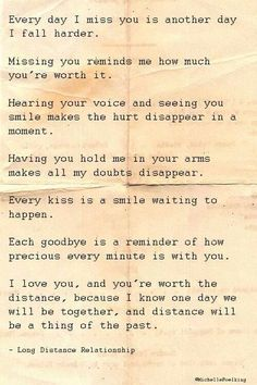 Love quote : Soulmate Quotes : Long distance relationship