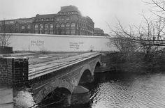 West-Berlin! SO36: Treptower Brücke, Kreuzberg, 1982  - Schön war die Zeit, als die Welt noch in Ordnung war -