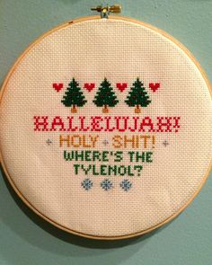 National Lampoon's Christmas Vacation Clark by stitchesbylibby