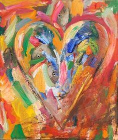 Preschool Picasso: Jim Dine Hearts