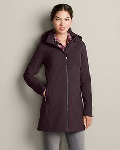 Windfoil® Elite Soft Shell Trench   Eddie Bauer - keep an eye on it for when goes on sale