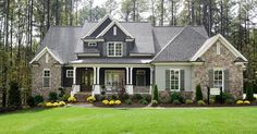 Just liked this Pin: The Waldon Pond Craftsman elevation built by Homes by Dickerson in Raleigh NC http://ift.tt/2jXYdec