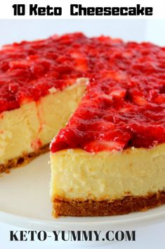 10 Keto Cheesecake are really yummy and delicious  for sure you´ll love it! #ketocheesecake #cheesecake #ketorecipes #ketofood #ketodelicous #ketodesserts