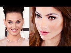 Katy Perry Makeup Tutorial {Grammy's 2014} - YouTube