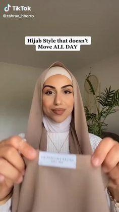 Muslim Fashion, Modern Hijab Fashion, Street Hijab Fashion, Modesty Fashion, Islamic Fashion, Hijab Turban Style, Mode Turban, Simple Hijab Tutorial, Hijab Style Tutorial