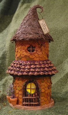 Warm and cozy fairy house night light with by LilHouseOnTheFairy, $120.00