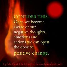 Open the door to positive change