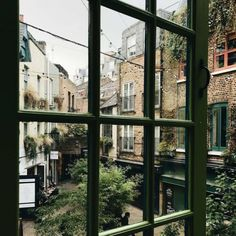 my dream home is an apartment, check out my collection, too, it's where most of these pictures are from: exterior cozy street interior decor. The Places Youll Go, Places To Go, Beautiful World, Beautiful Places, Window View, Through The Window, Slow Living, Adventure Is Out There, Monuments