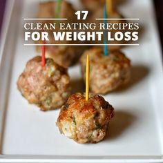 17 Clean Eating Recipes for Weight Loss #cleaneating #recipes #weightloss