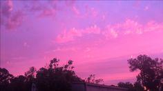 skies sunset beautiful evening happiness travel wanderlust pink australia