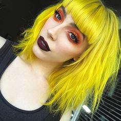 Bold makeup look by leighdickson