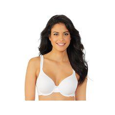 Plus Size Vanity Fair Bras: Body Caress Underwire Bra 75335, Women's, Size: 40 Dd, White