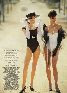 90's Vogue.. So glamorous!