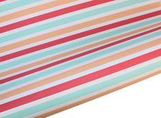Pastel Sorbet Stripes Table Runner