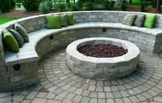 hardscape ideas - not the ground pavers