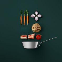 EN IMAGES. La photo culinaire de recettes réduite à son strict minimum - L'Express