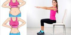 Oggi vi proponiamo un metodo alquanto semplice e soprattutto comodo per bruciare il grasso addominale. Si tratta di 7 esercizi da fare sedute.