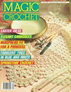 Magic crochet № 59 - Edivana - Álbuns da web do Picasa...FREE MAGAZINE!!