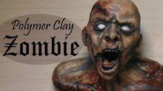 Polymer Clay Zombie Tutorial/Timelapse