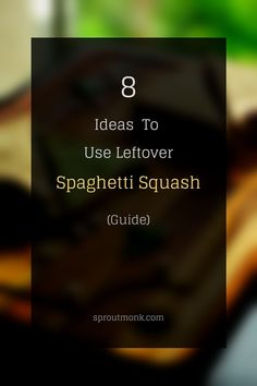 Learn how to use leftover spaghetti squash at home. Detailed FAQs included Summer Recipes, New Recipes, Whole Food Recipes, Drink Recipes, Leftover Spaghetti, Spaghetti Squash, North Indian Recipes, Indian Food Recipes, Food Hacks