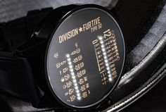Division Furtive | Dual Linear LED Watch